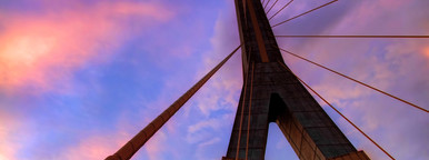 Rama VIII Bridge Pylon Abstract