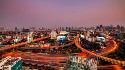 Bangkok Scalextric Track