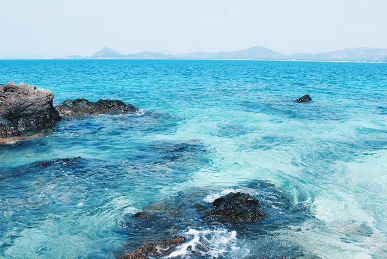 Clear azure ocean waters 1