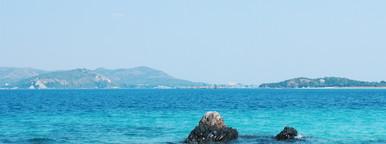 Clear azure ocean waters  2