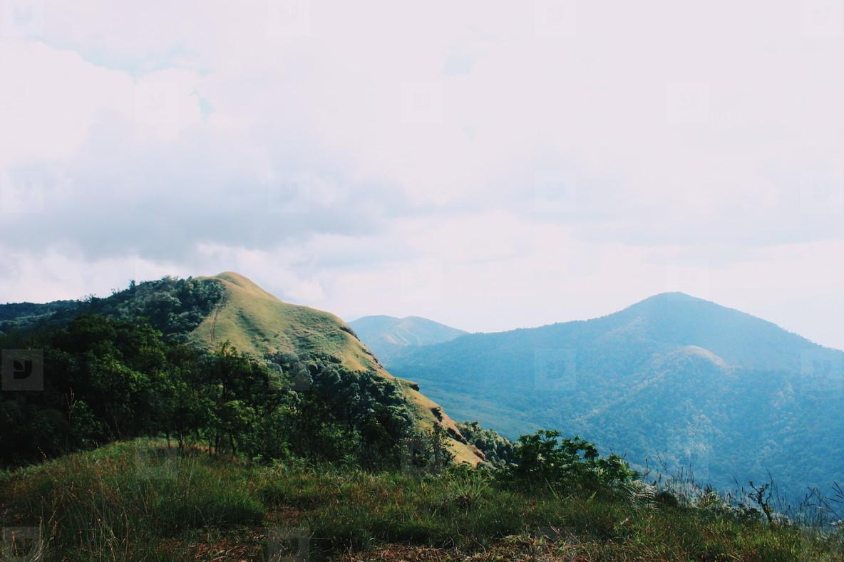 Peak of mountain at Chiangmai
