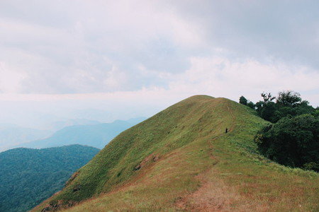 Peak of mountain at Chiangmai