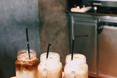 Fresh iced coffee