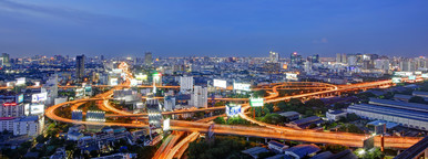 Bangkok Interchange  Night