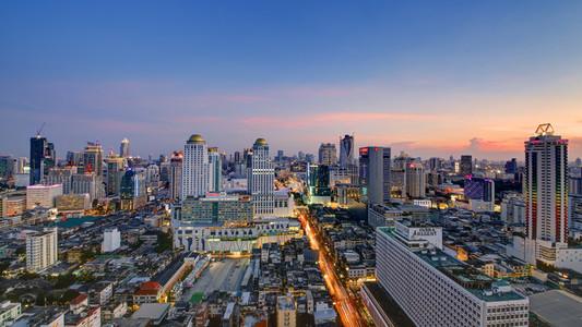Central Bangkok Cityscape