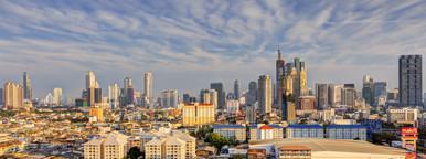 Sathorn Business Cityscape