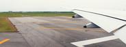 Airplane Wing   Runway
