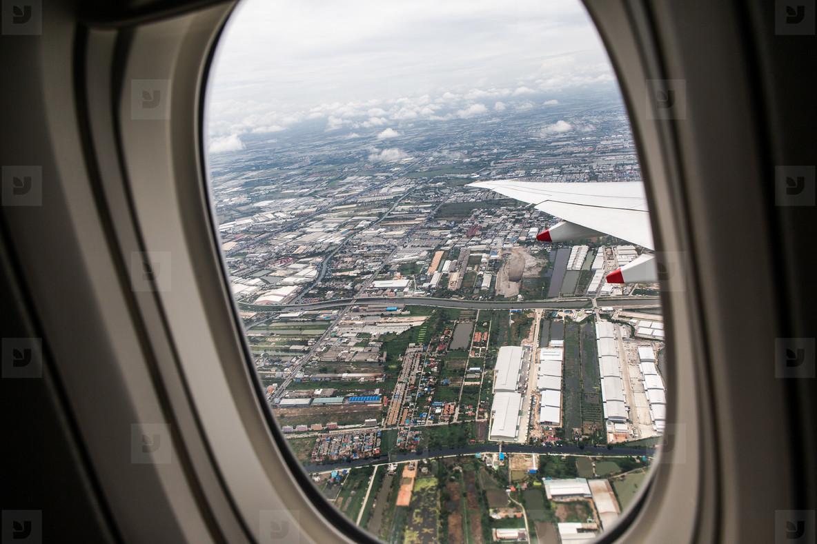 Bangkok Window View