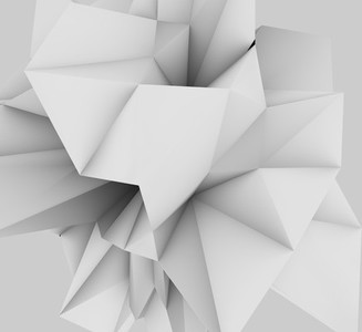 abstract low poly