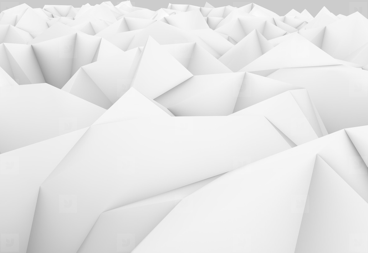abstract low poly landscape