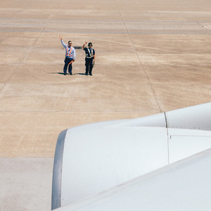 Airport Goodbye