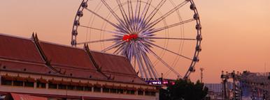 Asiatique Big Wheel at Sunset