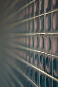 retro tiles perspective