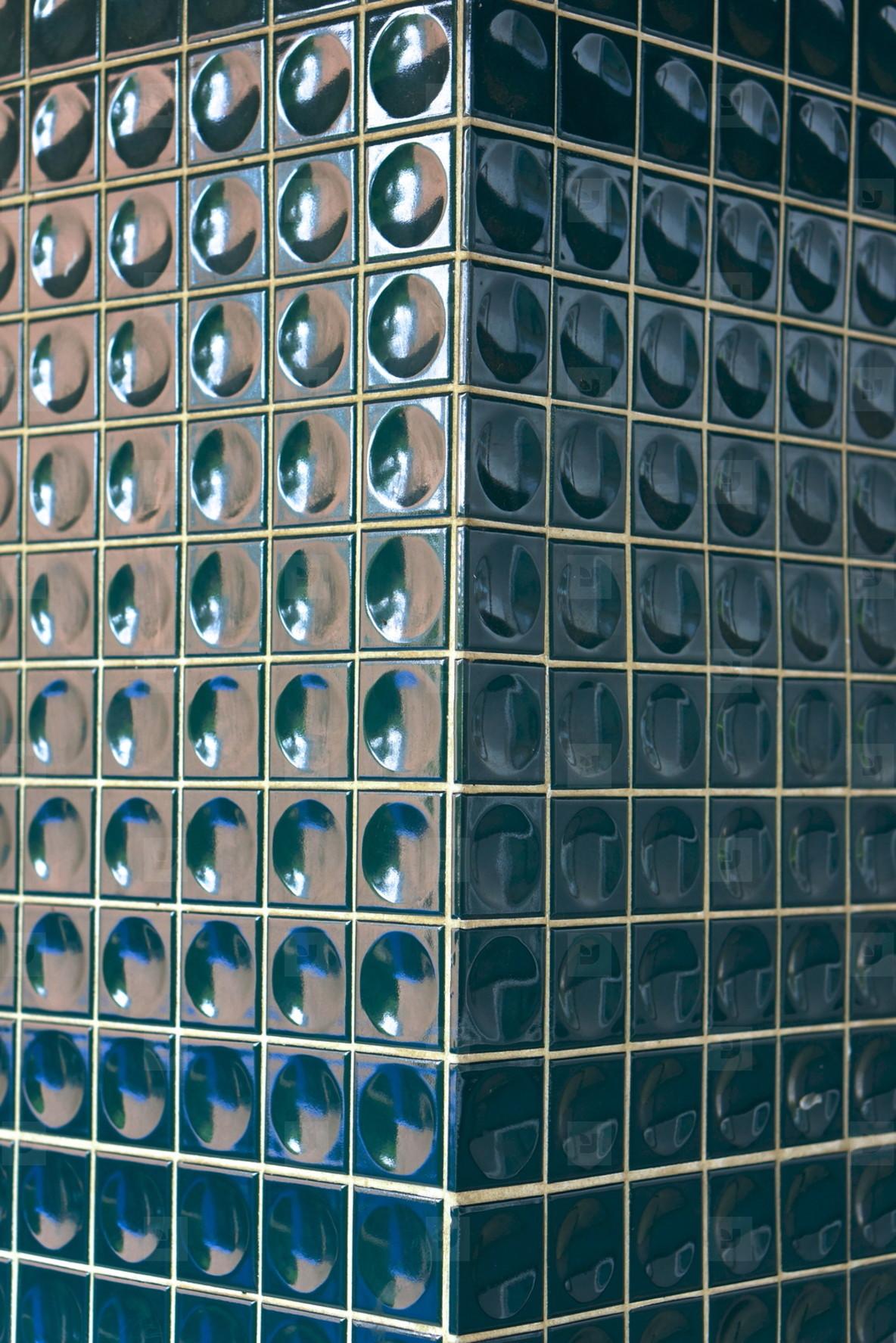retro tiles corner