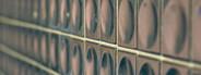 retro tiles wall