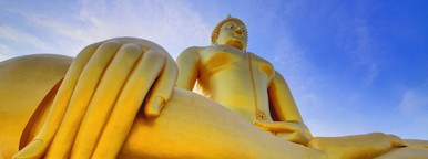 Giant Golden Buddha  1