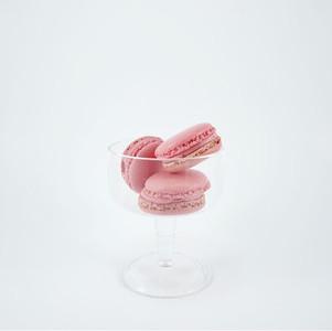 Rose Flavored Macarons