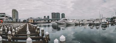 Melbourne Docks Panorama