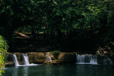 Jed Sao Noi Waterfall 1