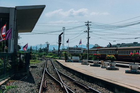 Railway crossroad
