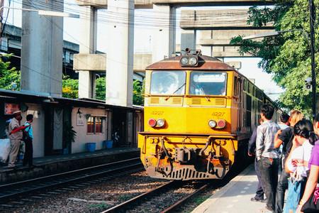 Railway Station  Thailand