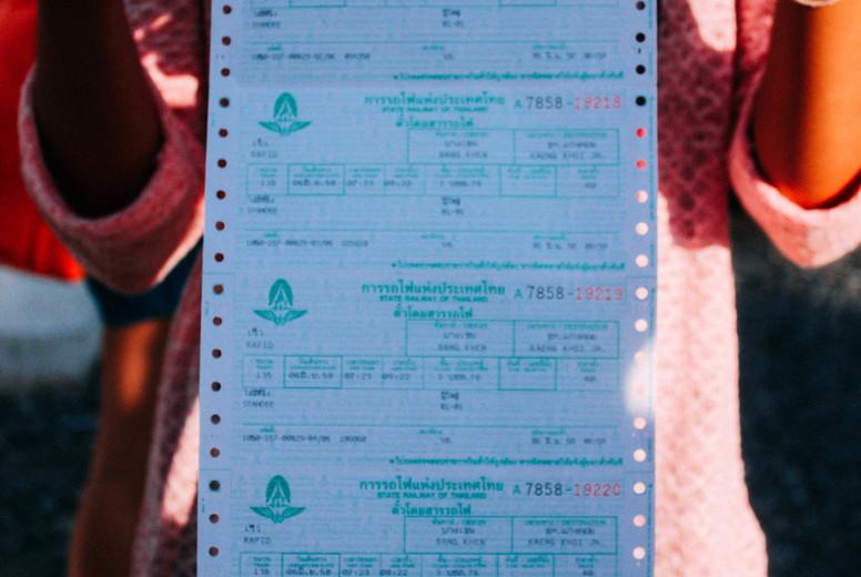 Train tickets  2