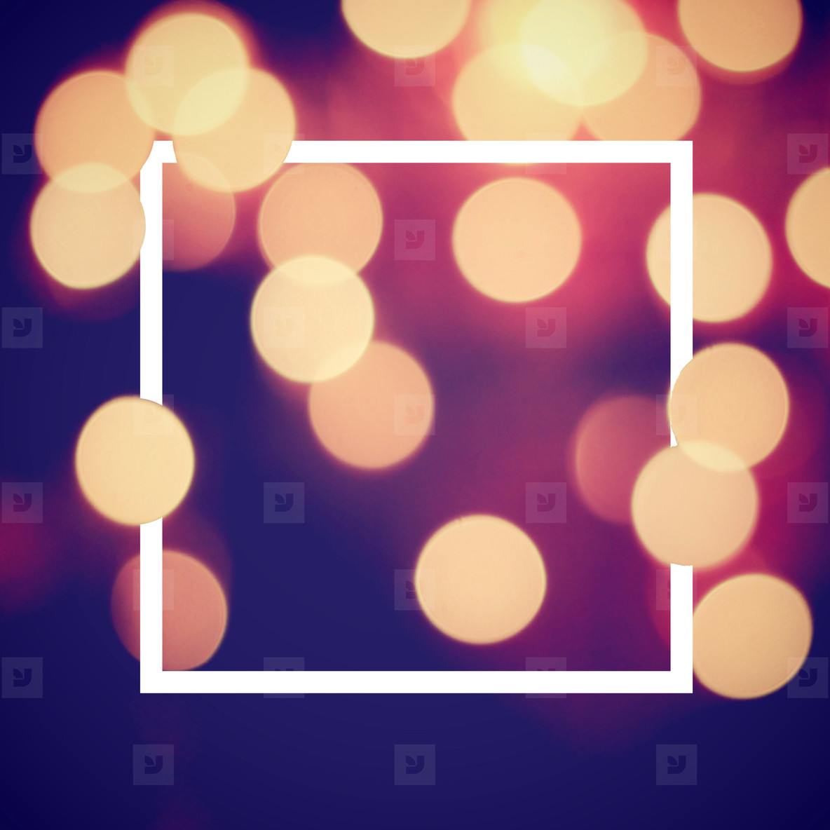 bokeh light and design frame