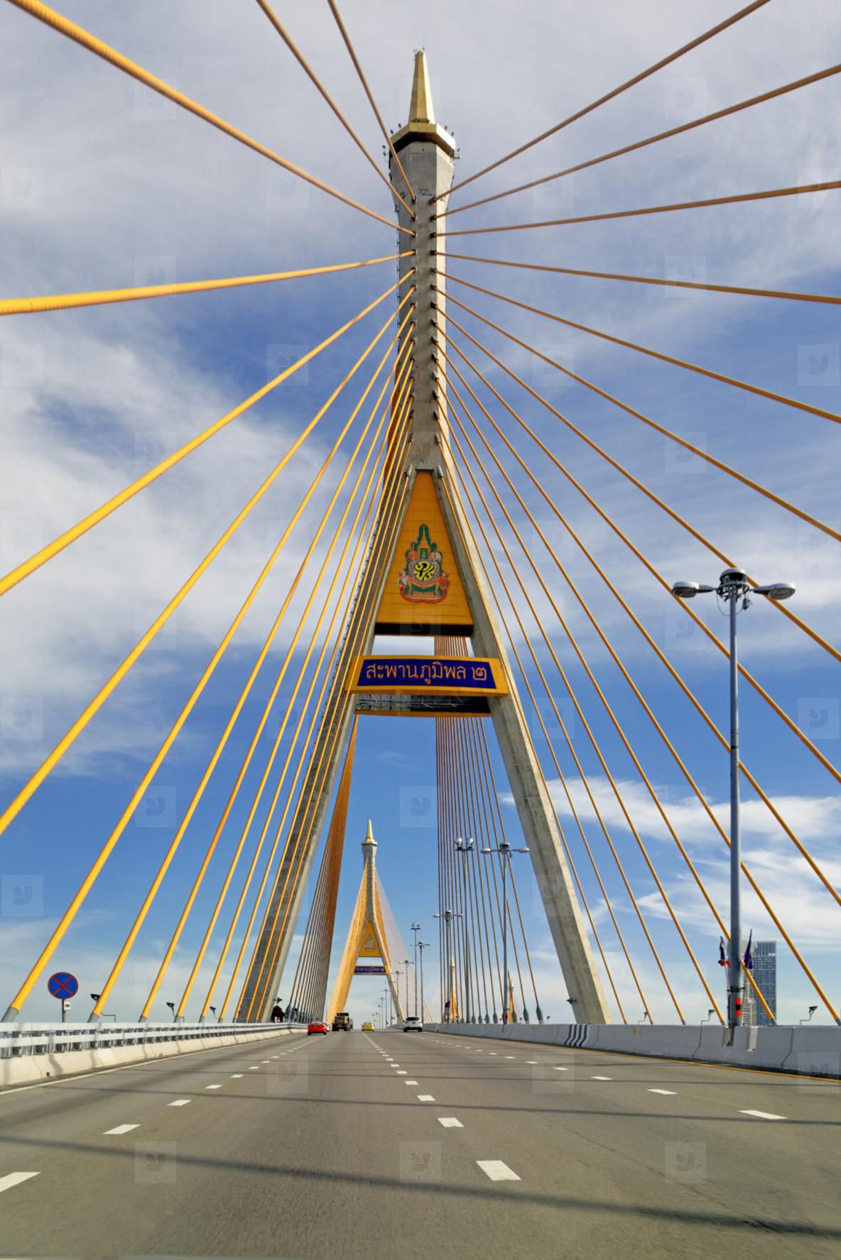 Golden Spires  Bhumibol bridge 1