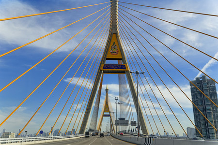 Golden Spires Bhumibol bridge2