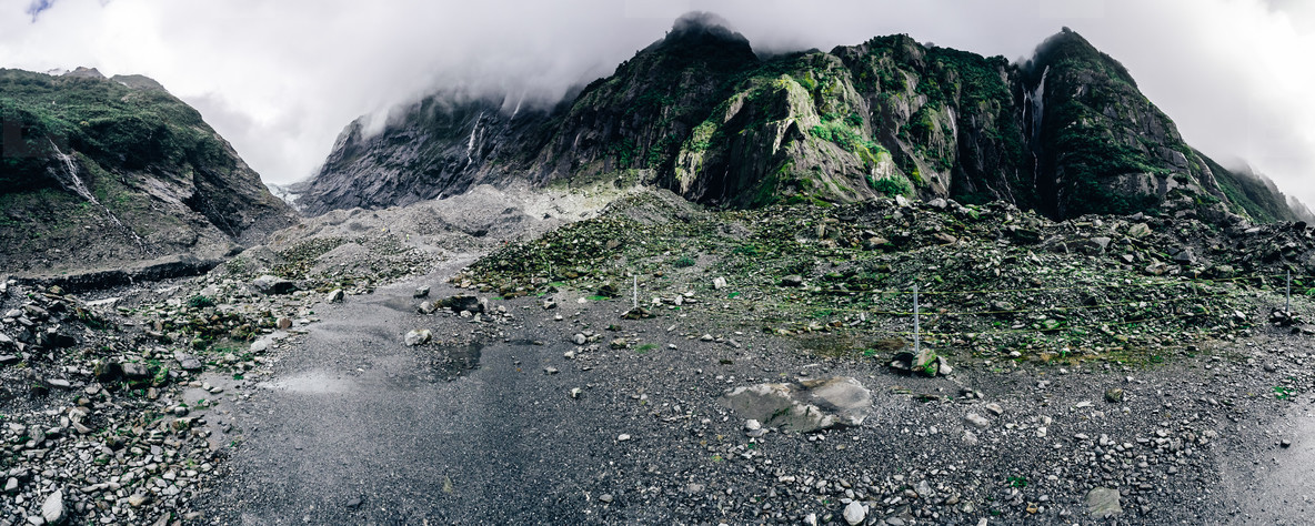 Franz Joseph Glacier  NZ Pano