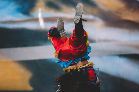 Mongolian Acrobat