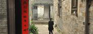 Woman walking in Fenghuang