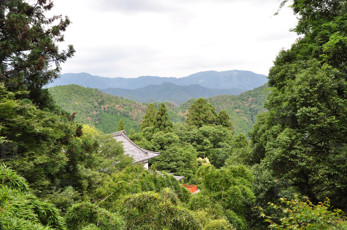 Kurama dera hiking trail
