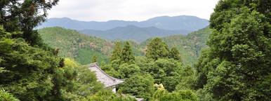 Kurama dera hiking trail