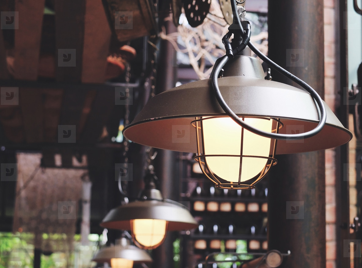 Vintage lighting lamp decor