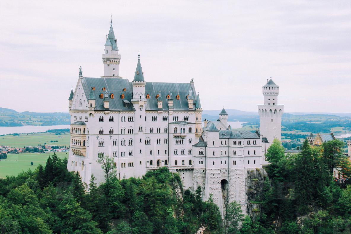 The castle of Neuschwanstein