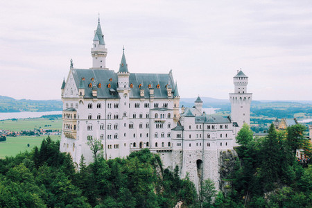 The castle of Neuschwanstein