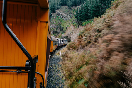 New Zealand Train Ride