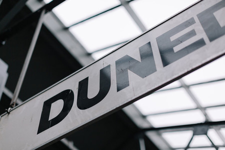 Dunedin  NZ Train Station
