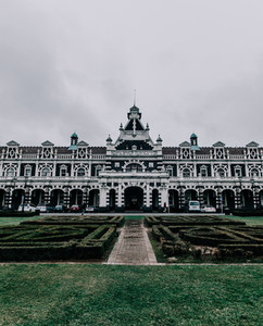 Dunedin  NZ Train Station