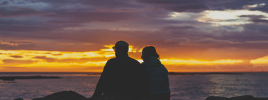 Romantic silhouette