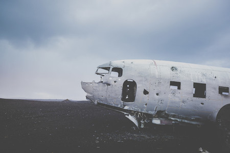 Airplane Wreckage  1