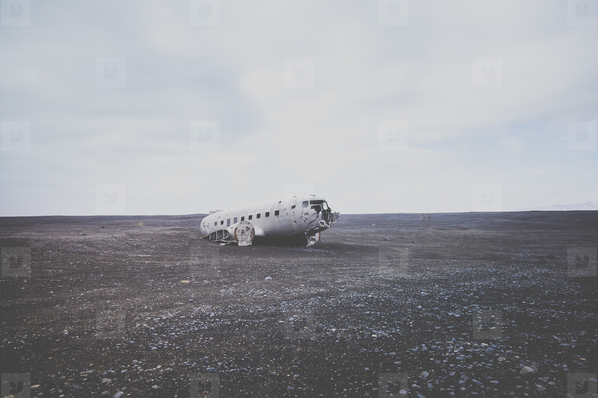 Airplane Wreckage  6