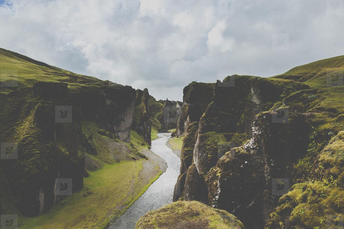 Fjaorargljufur canyon
