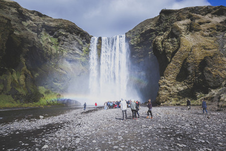 Skogafoss Waterfalls