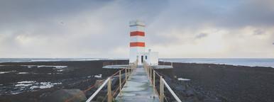 Lighthouse  Iceland