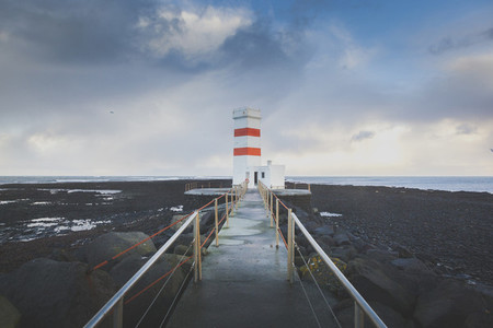 Lighthouse  Iceland