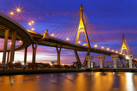 Stars   Struts  Bhumibol Bridge