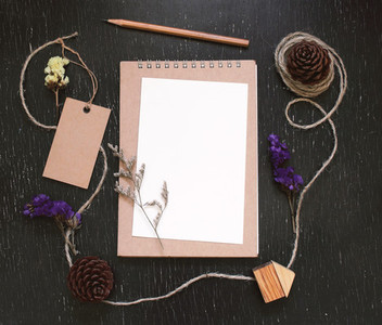 Craft and stationery mockup