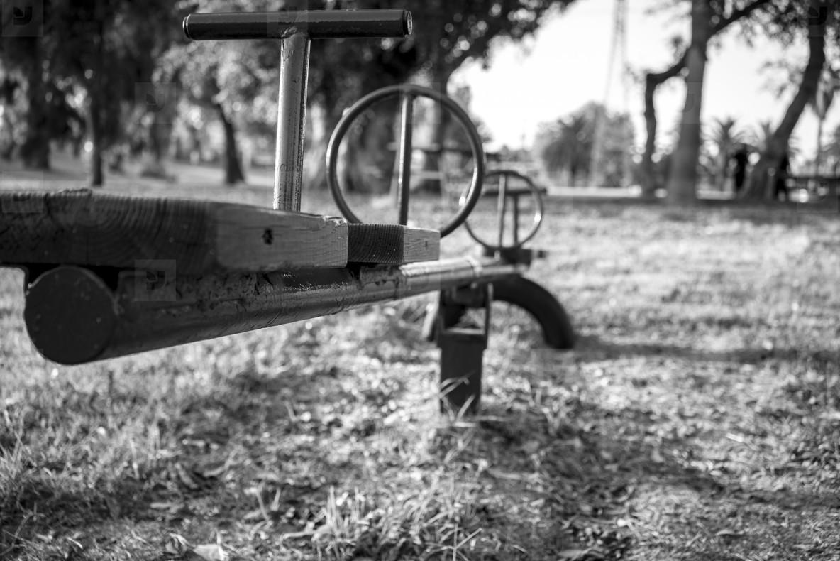 B W Playground Garden